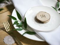 Wooden Place Cards (20)